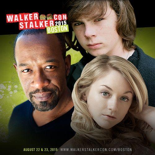 Walker Stalker Con Boston LIVE!