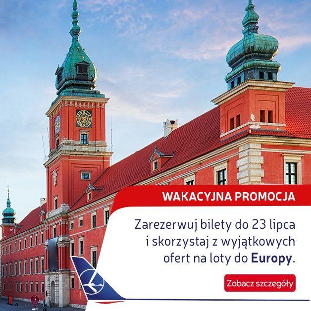 Promocja: LOT do Polski od $499!