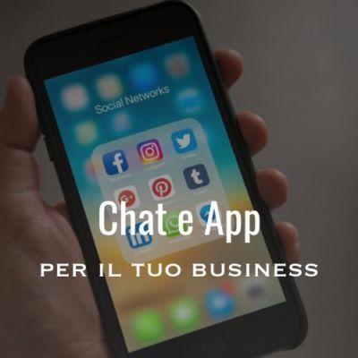 Conversazioni business attraverso chat e app di messaggistica