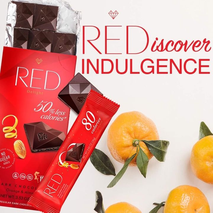 RED Chocolate Says I Love You