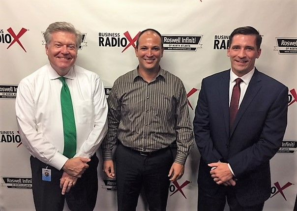 Frank O'Brien with IberiaBank and Ron Freeman with ITsimple