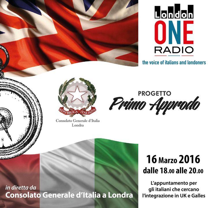Primo Approdo dal Consolato Italiano a Londra, l'incontro con i giovani italiani appena arrivati ....