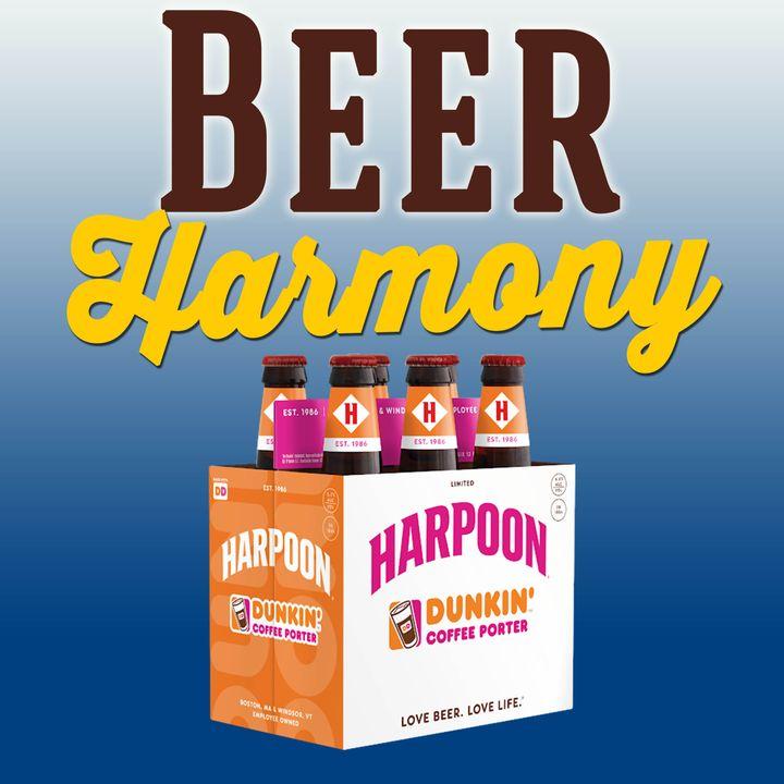 Harpoon Brewery Dunkin' Coffee Porter