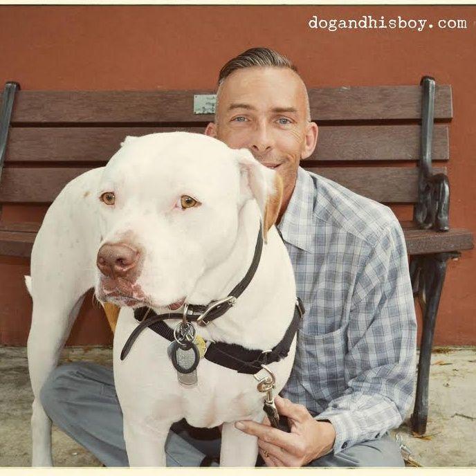 Bernard Lima-Chavez, Deaf Dog Parent, Trainer, And Advocate For Deaf Dogs