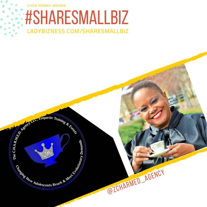 Share Small Biz with Clinetta Allen of The Charmed Agency