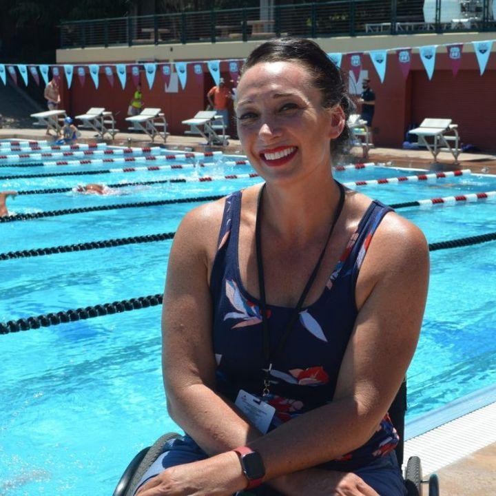 Talking Olympics w Olympic Champion Swimmer Amy Van Dyken