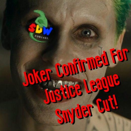 Joker Confirmed For Justice League Snyder Cut!