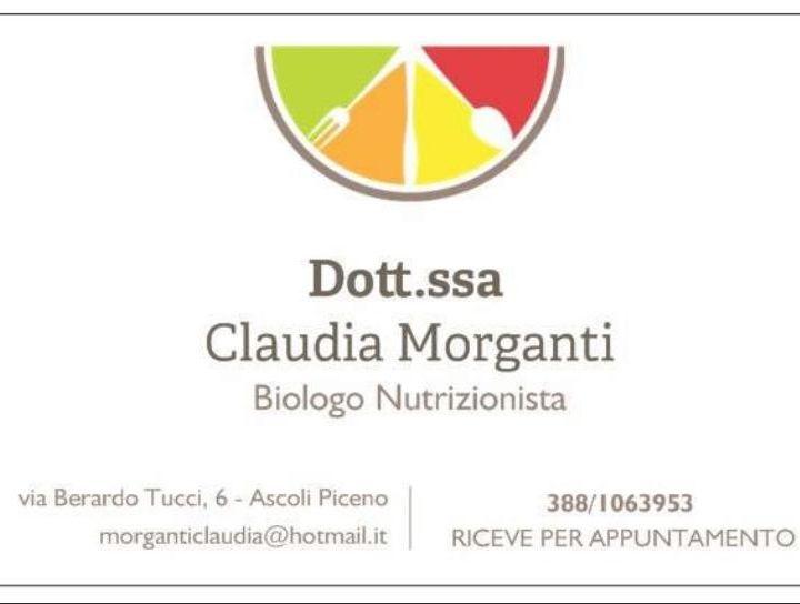 INTERVISTA CLAUDIA MORGANTI - BIOLOGA NUTRIZIONISTA