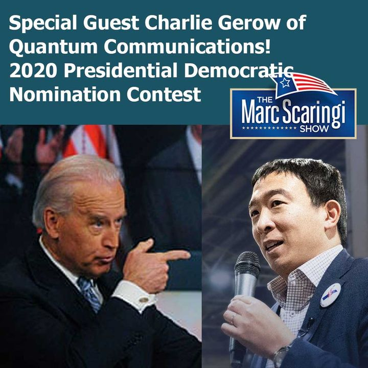 2019-05-04 TMSS Special Guest Charlie Gerow on the 2020 Presidential Democratic Nomination Contest