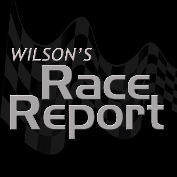 Wilson's Race Report - 12-05-2016