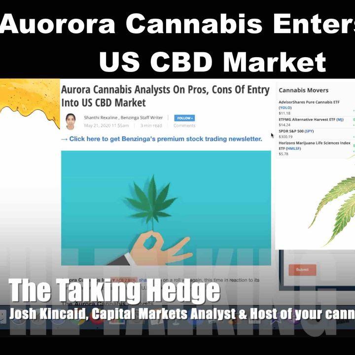 Aurora Cannabis Enters Into US CBD Market
