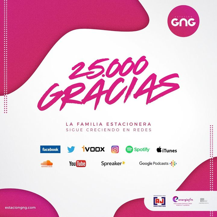 BUENA MUSICA para celebrar 25.000 SEGUIDORES en Redes Sociales