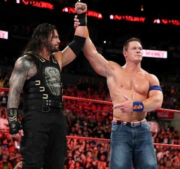"Wrestling Nostalgia: John Cena vs Roman Reigns ""War of Words"""