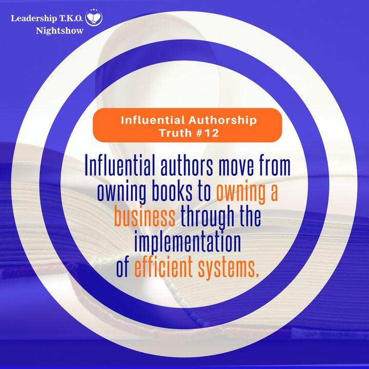 Authorship Truth #12   Lakeisha McKnight
