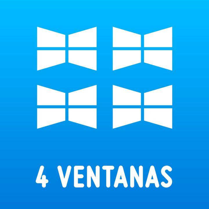 4 ventanas