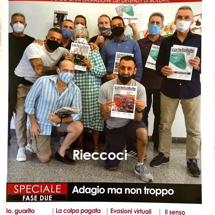"""""""TELERADIOREPORTER"""" NEL CARCERE DI BOLLATE, CON IL GIORNALISTA RAI, PAOLO ALEOTTI"""