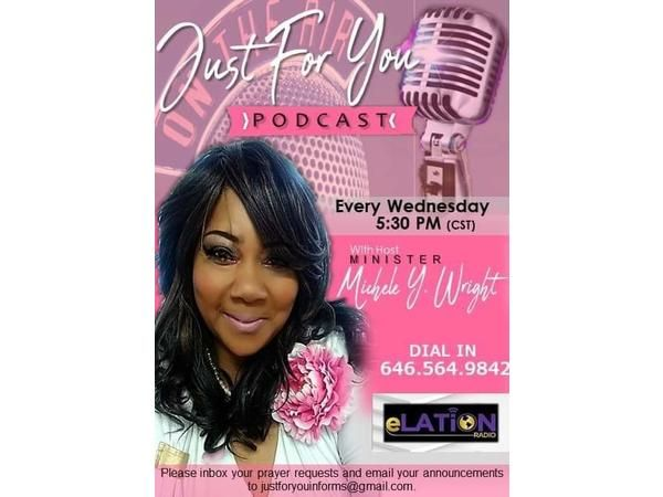 Just For You with Pastor Michele Wright