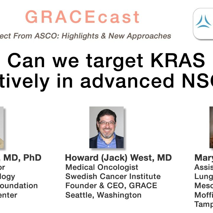 Can we target KRAS effectively in advanced NSCLC?