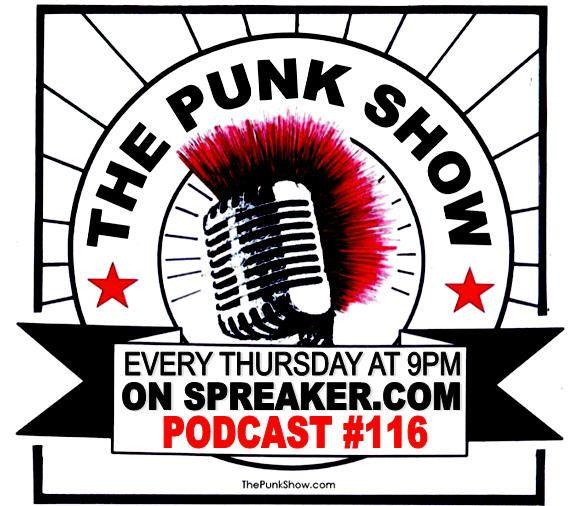 The Punk Show #116 - 06/10/2021