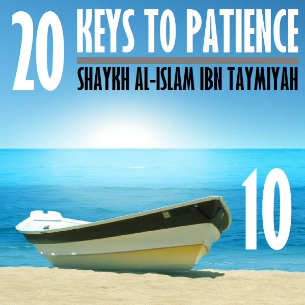 10: Three More Keys to Patience (#11, 12, & 13)