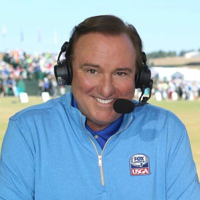 Fox Sports Broadcaster Tim Brando just off the golf course on Realignment