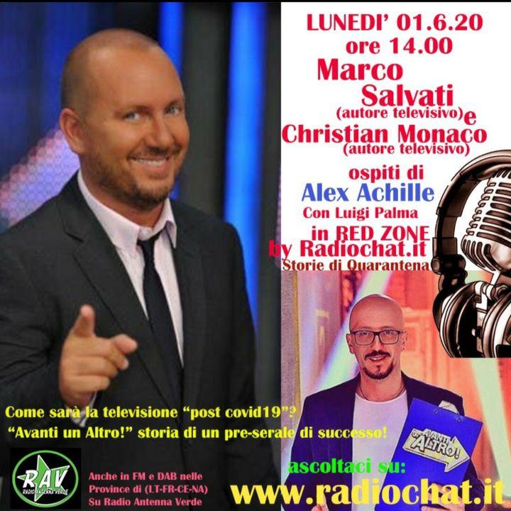 """Marco Salvati e Christian Monaco ospiti di Alex Achille in """"RED ZONE"""" by Radiochat.it"""