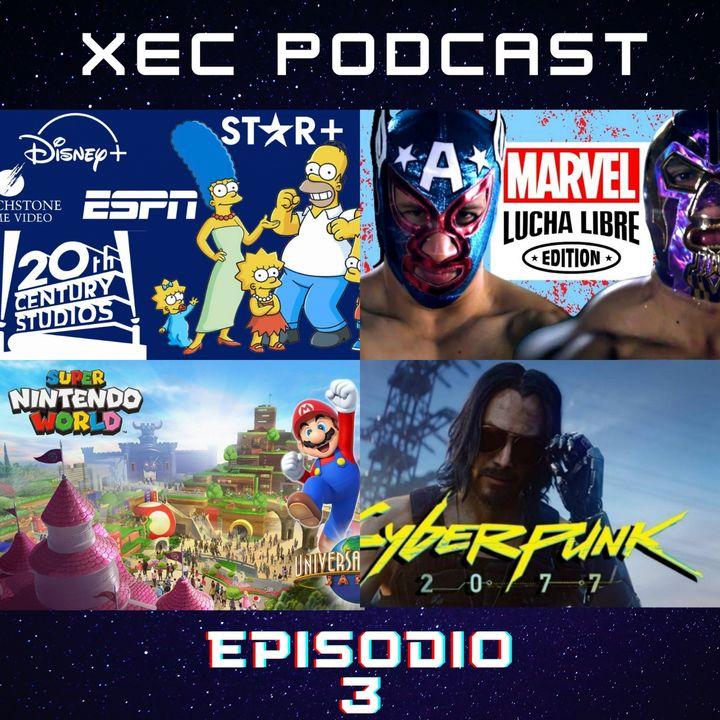 Episodio 03 - Star+, Lucha Libre x Marvel, Cyberpunk 2077 y ¡Mucho mas!