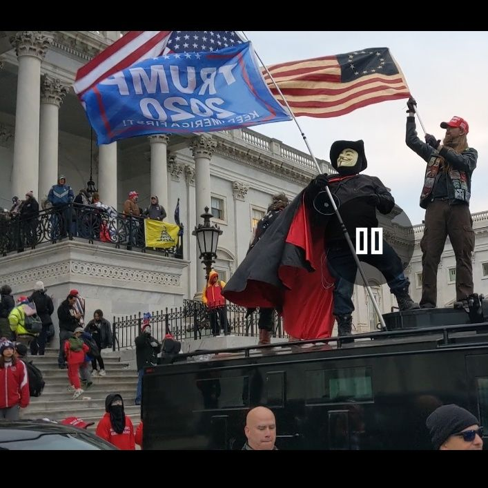 Nate Wallace Breaks Down Lessons Learned Covering MAGA Capitol Hill Insurrection