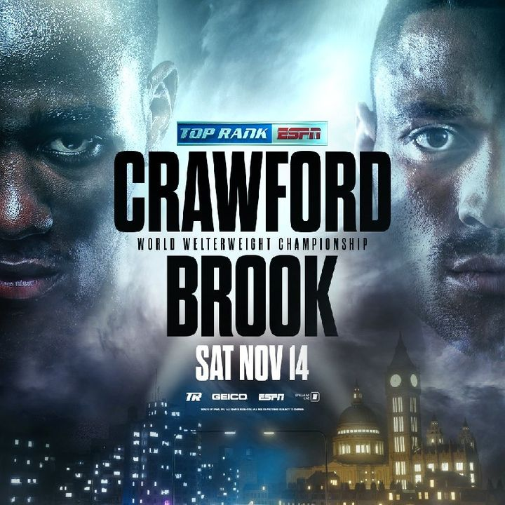 Preview Of TopRank Boxing Card Headlined By Welterweight World Title Fight Terence Crawford - Kell Brook Live On ESPN In Las Vegas