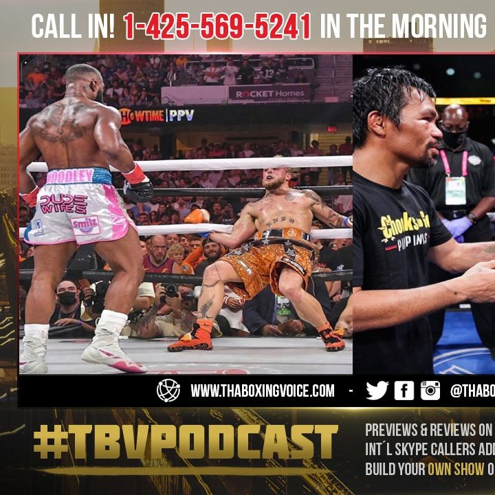 ☎️Jake Paul NO KO😱BEATS Woodley By SD😢Pacquiao-Tank PPV Numbers Comparable🔥Tank a Star🤑