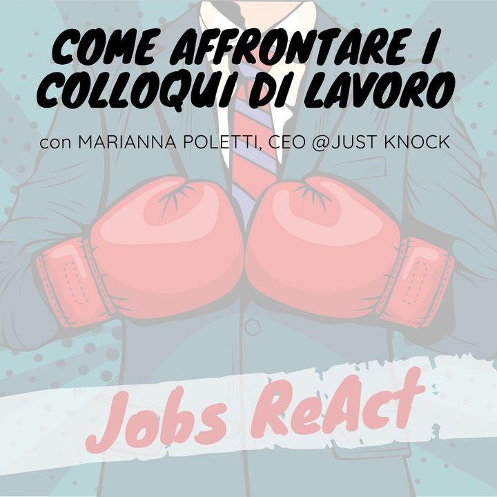 JR 15   Come affrontare i colloqui di lavoro - con Marianna Poletti