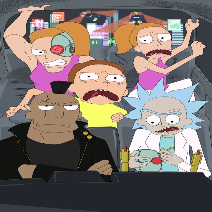 Rick and Morty C-138: Cyberpunk Saga Part 3 (Fan Made Audio Drama)