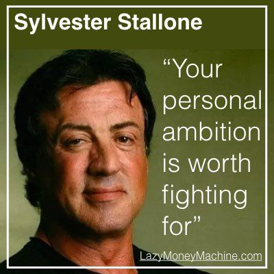 16: Your personal ambition is worth fighting for