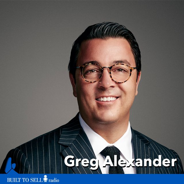Ep 271 Greg Alexander - How to Sell a 30-Person Consultancy for $162 Million
