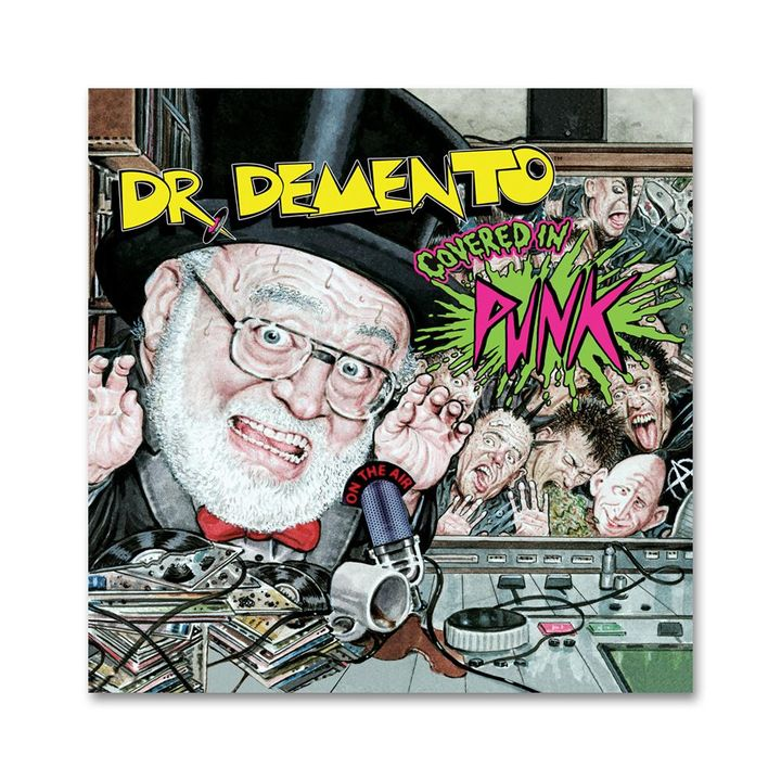 Dr Demento and John Cafiero Covered In Punk