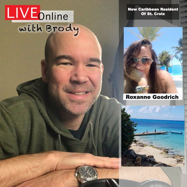 Starting Over In the Caribbean - LIVE Online With Brody