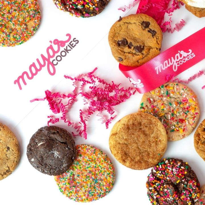 Life Is Sweeter With Maya's Cookies