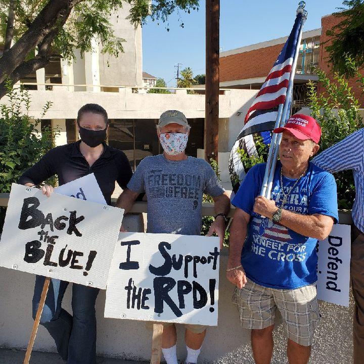 Defend The Blue Redlands Ca