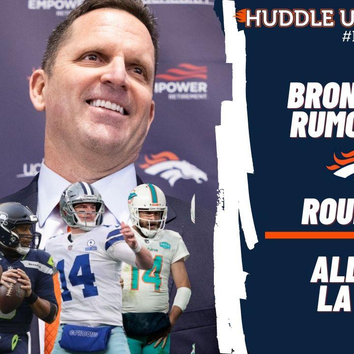 HU #633: Broncos QB Rumor Mill Round-Up | w/ Kristie