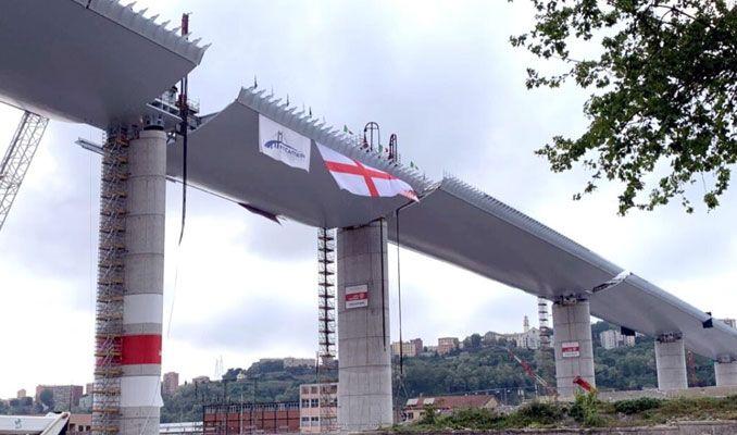 Il nuovo ponte di Genova sarà inaugurato il 3 agosto