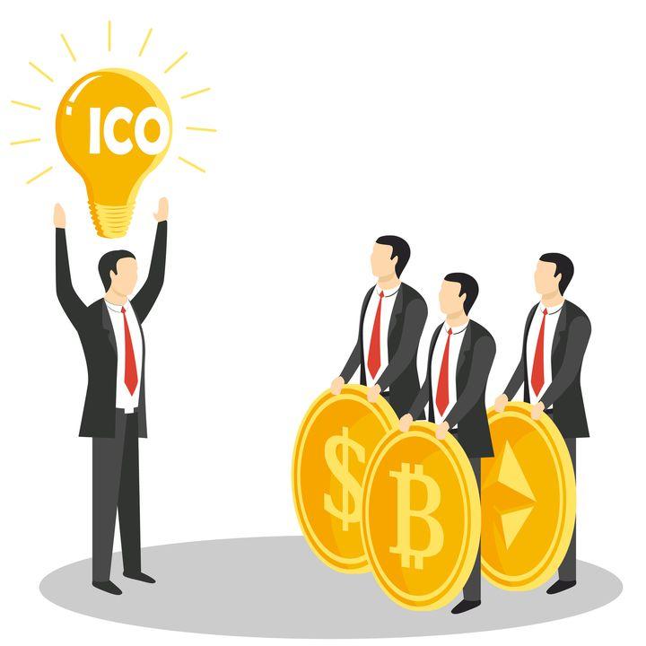C) ICO e white paper per finanziare un'azienda