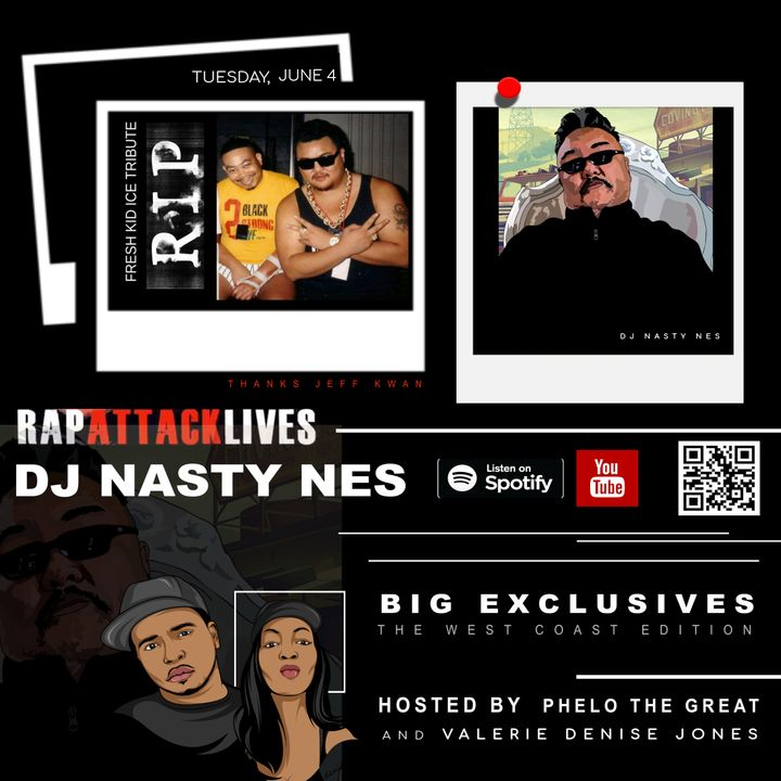 DJ NASTY NES SHARES ALL With Hosts, VALERIE DENISE Jones And PHELO The Great
