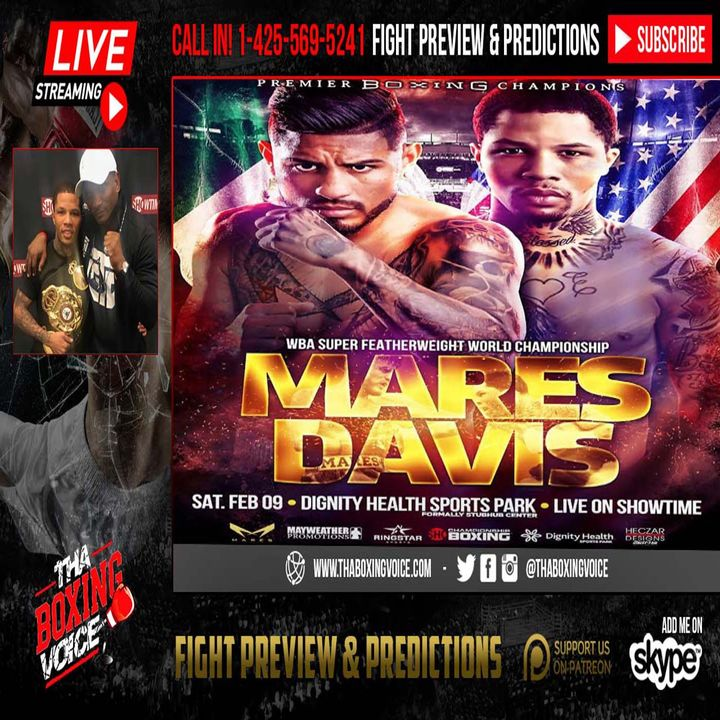 🔥Gervonta Davis Trainer Calvin Ford Live On Mares Fight,💪🏾 Tank's Inactivity😳