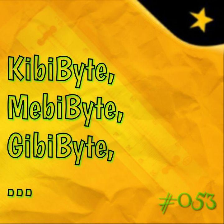 KibiByte, MebiByte, GibiByte, ... (#053)