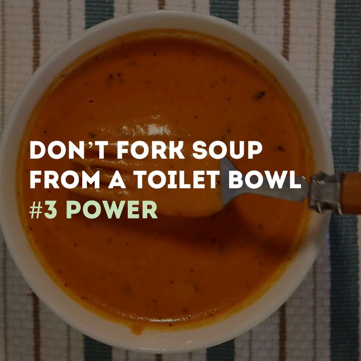 Don't Fork Soup From A Toilet Bowl Series - #3 Power - Pr Andy Yeoh