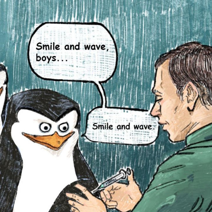 Penguins of Madagascar and the Smallpox Vaccine