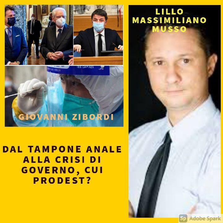 DAL TAMPONE ANALE ALLA CRISI DI GOVERNO, CUI PRODEST?
