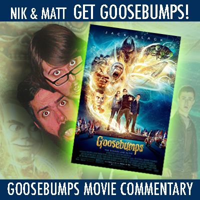 Goosebumps Movie Commentary