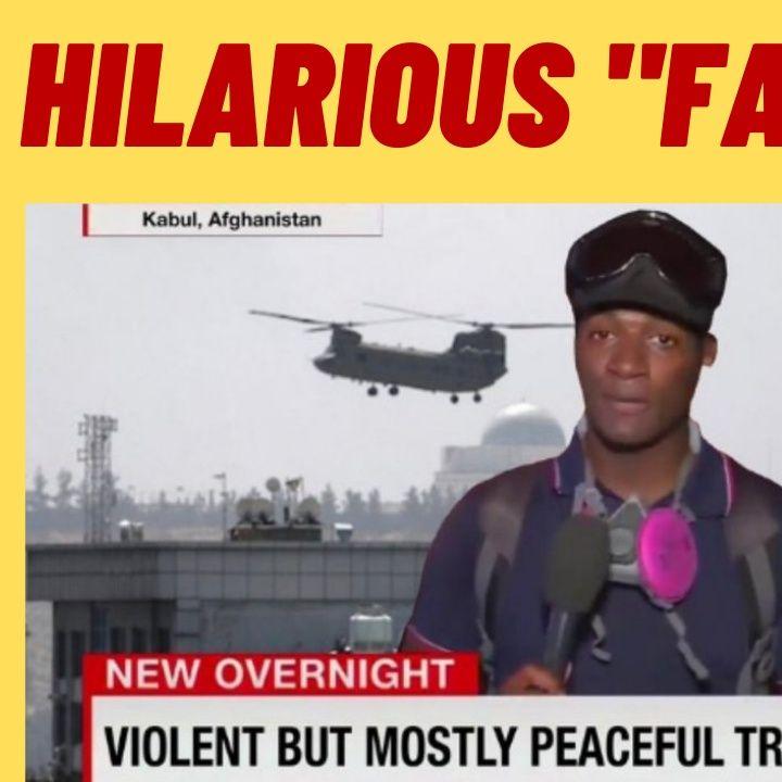 RIDICULOUS Fact Check On CNN Kabul Meme