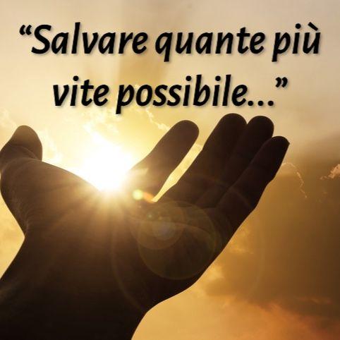 """""""Salvare quante più vite possibile..."""" (De Donno)"""